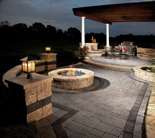 BACKYARD PATIO AND DECKS
